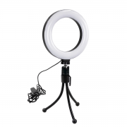 Ring Light de Mesa 16cm Luz de Led para Foto e Vídeo