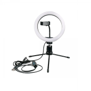 Ring Light de Mesa 26cm Luz de Led para Foto e Vídeo