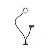 Ring Light de Mesa com Clamp e Suporte para Celular Sou Foto LC-08