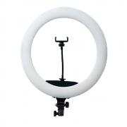 Ring Light Iluminador de LED 65W com 45cm Diâmetro para Foto e Vídeo (sem tripé)