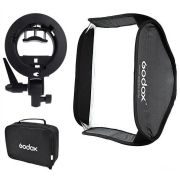 Softbox Godox 60x60cm para Flash Speedlite