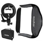 Softbox Godox 80x80cm para Flash Speedlite de Câmera
