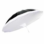Sombrinha Softbox 150cm Greika RUS-150 com Difusor Branco para Estúdio de Fotografia