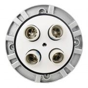 Soquete Iluminador Godox Universal TL-04 para até 4 Lâmpadas