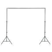 Suporte para Fundo Infinito 2,40m x 3m Sou Foto SFI-243 para Estúdio Fotográfico (sem tecido)