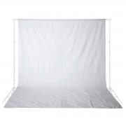 Tecido para Fundo Infinito 3m x 4m Equifoto - Branco