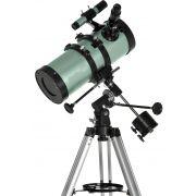 Telescópio Refletor Newtoniano Equatorial 1000x114mm com Ampliação 750x - F1000114-EQ