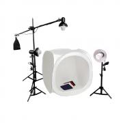 Tenda Fotográfica 80cm para Iluminação de Foto de Produto Greika PK-ST10 110v
