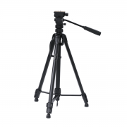 Tripé para Câmera com Cabeça Hidráulica 160cm Weifeng WT3716