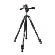 Tripé para Câmera com Cabeça de 3 Vias Vanguard 233AP 160cm para Fotos e Vídeo