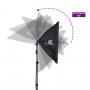 Kit para Iluminação de Foto e Vídeo com Softbox 50x70, Tripé de 2m e Bolsa Sou Foto