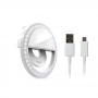 Ring Light Selfie Luz de Led 8cm para Celular e Dispositivos Móveis