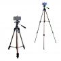 Tripé para Câmera DSLR com Suporte para Celular Weifeng WT-3710