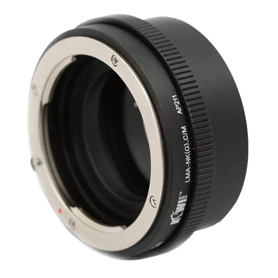 Adaptador de Lente LMA-NKGCM para Usar Lentes Nikon G em Câmeras Canon EF-M  - Fotolux