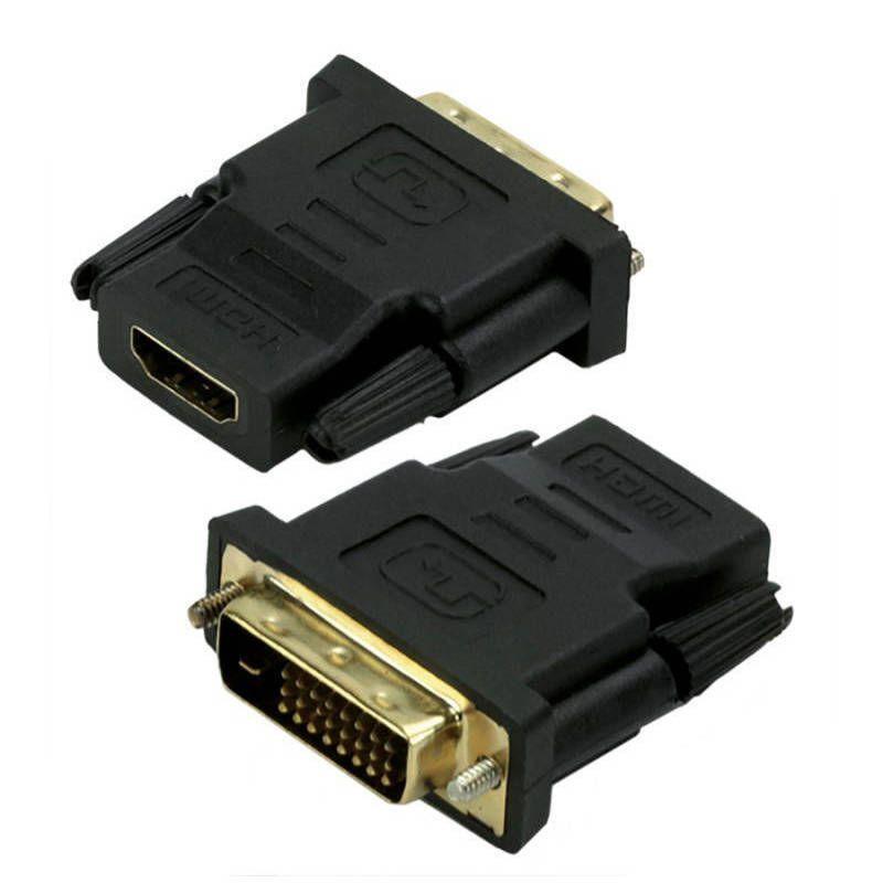 Adaptador DVI Macho para HDMI Fêmea Chip Sce