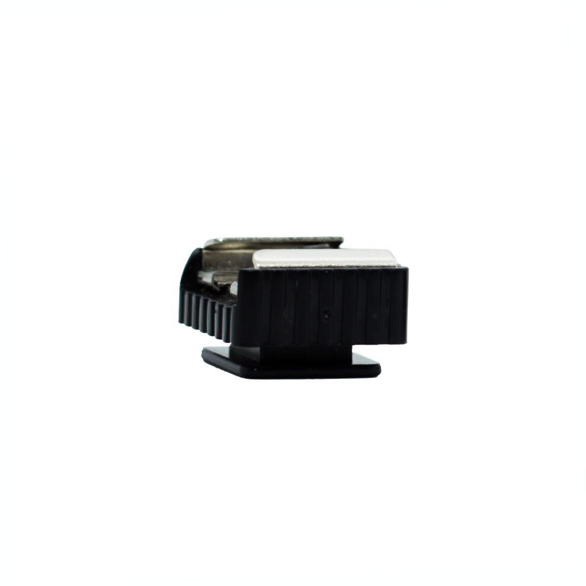 Adaptador Sapata Hot Shoe YA5004 para Flashes e Equipamentos Fotográficos