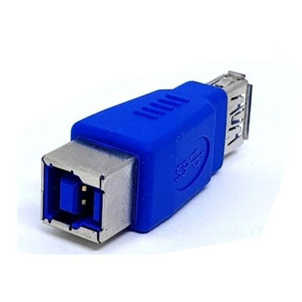 Adaptador USB 3.0 B Fêmea para A Fêmea Chip Sce 039-0132