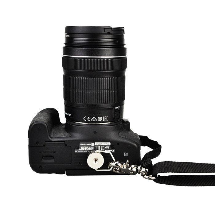 Alça de Ombro JJC com Gancho e Conector Pino ¼ para Câmera DSLR - NS-J3