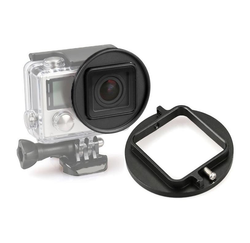 Anel Adaptador para Filtro de Lente 58mm para Go Pro GP-ZJH-1