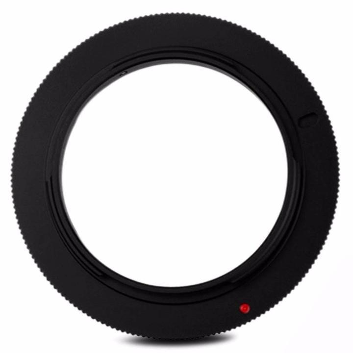 Anel Adaptador Reverso para Lentes Objetivas Canon EOS 52mm JJC