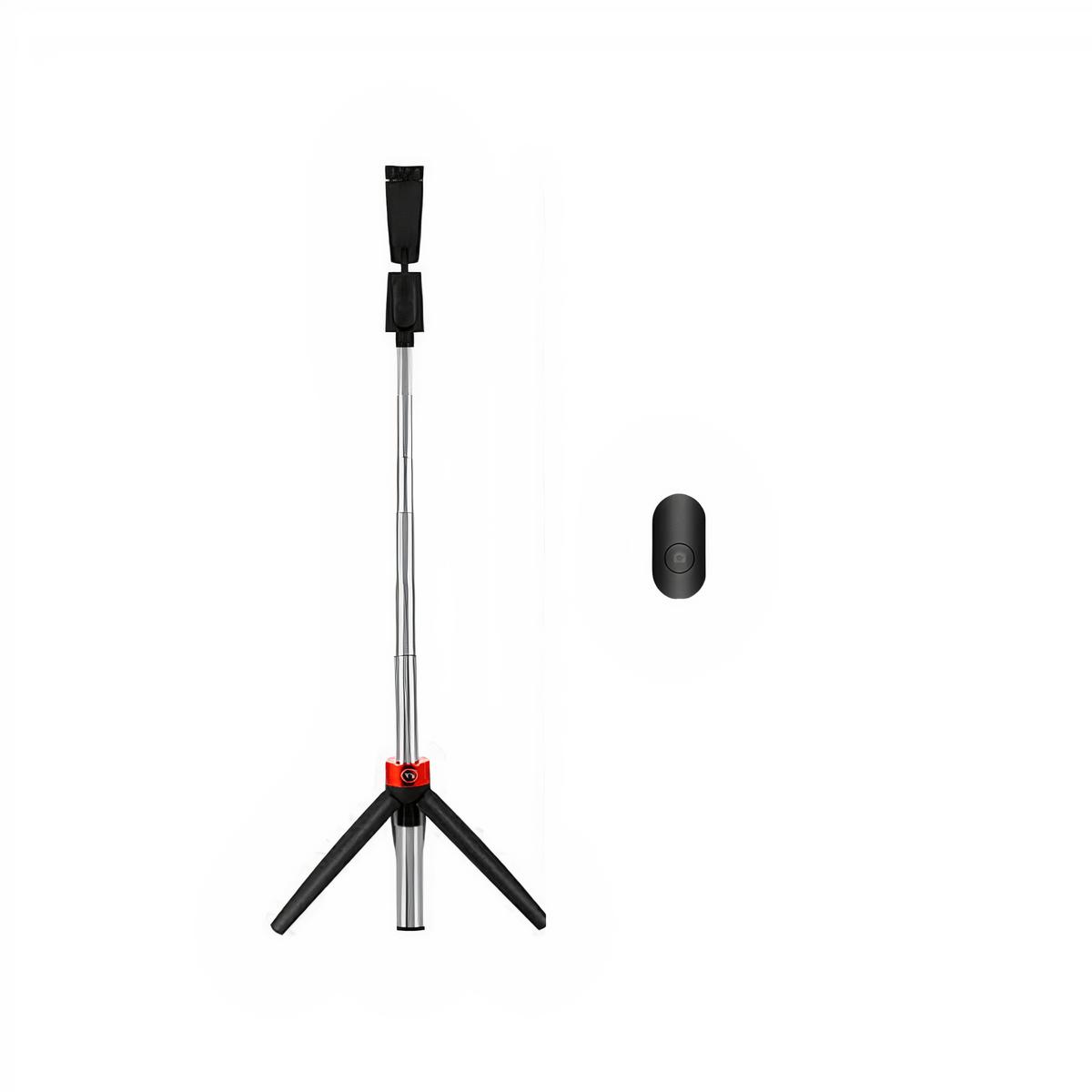 Bastão de Selfie e Mini Tripé Greika Y11 com Controle Bluetooth