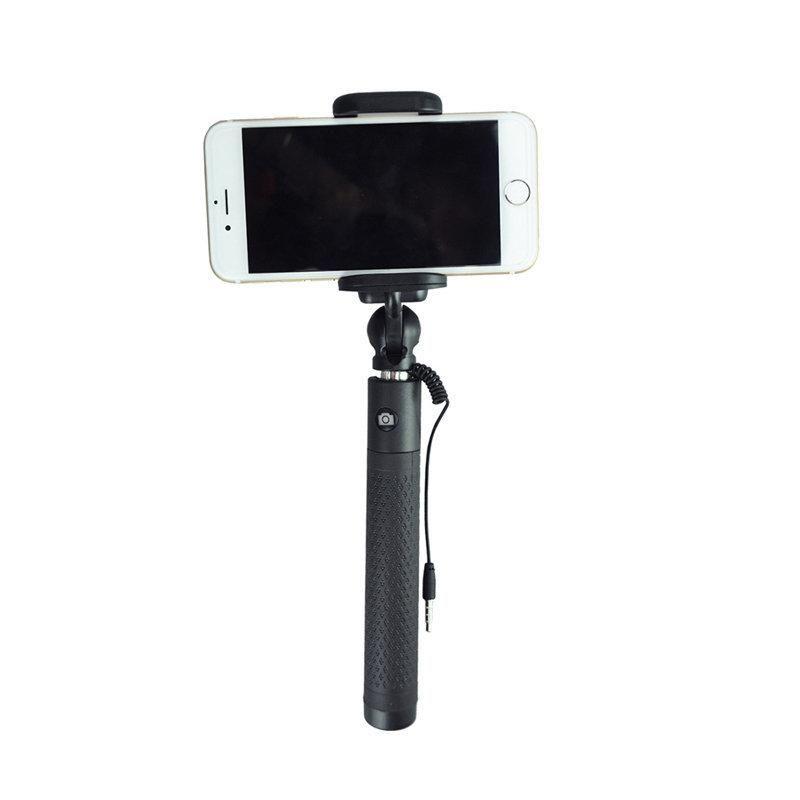 Bastão de Selfie para Smartphones Retrátil e com Disparador JJC SS-80BK