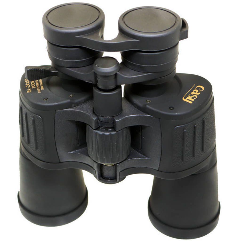 Binóculo Zoom Easy Ampliação 8 à 24x 50mm Lentes UV e Prismas BAK7