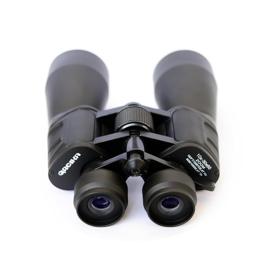 Binóculo Zoom Greika Ampliação 10 à 30x 60mm Lentes UV e Prismas BAK4