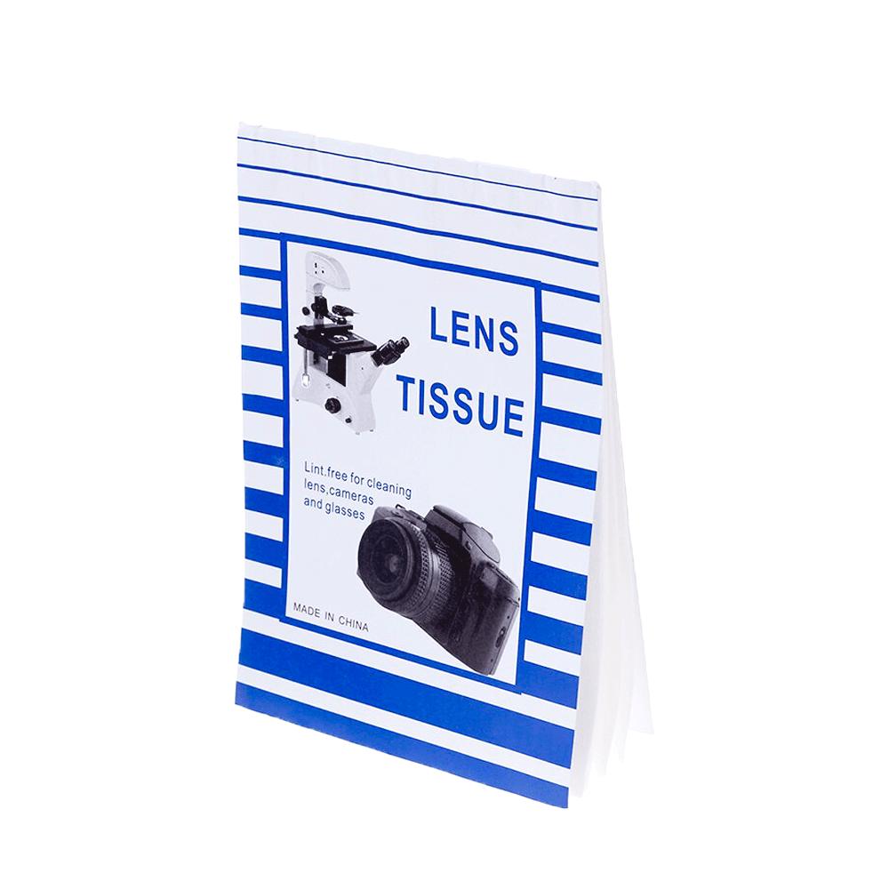 Lenço de Papel para Limpeza de Lentes Fotográficas e Óticas em Geral  Sou Foto KLC-002  - Fotolux