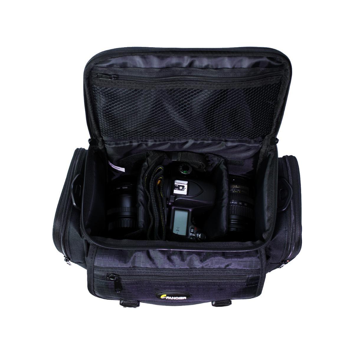Bolsa Fancier WB-3427 para Câmeras e Acessórios Fotográficos  - Fotolux