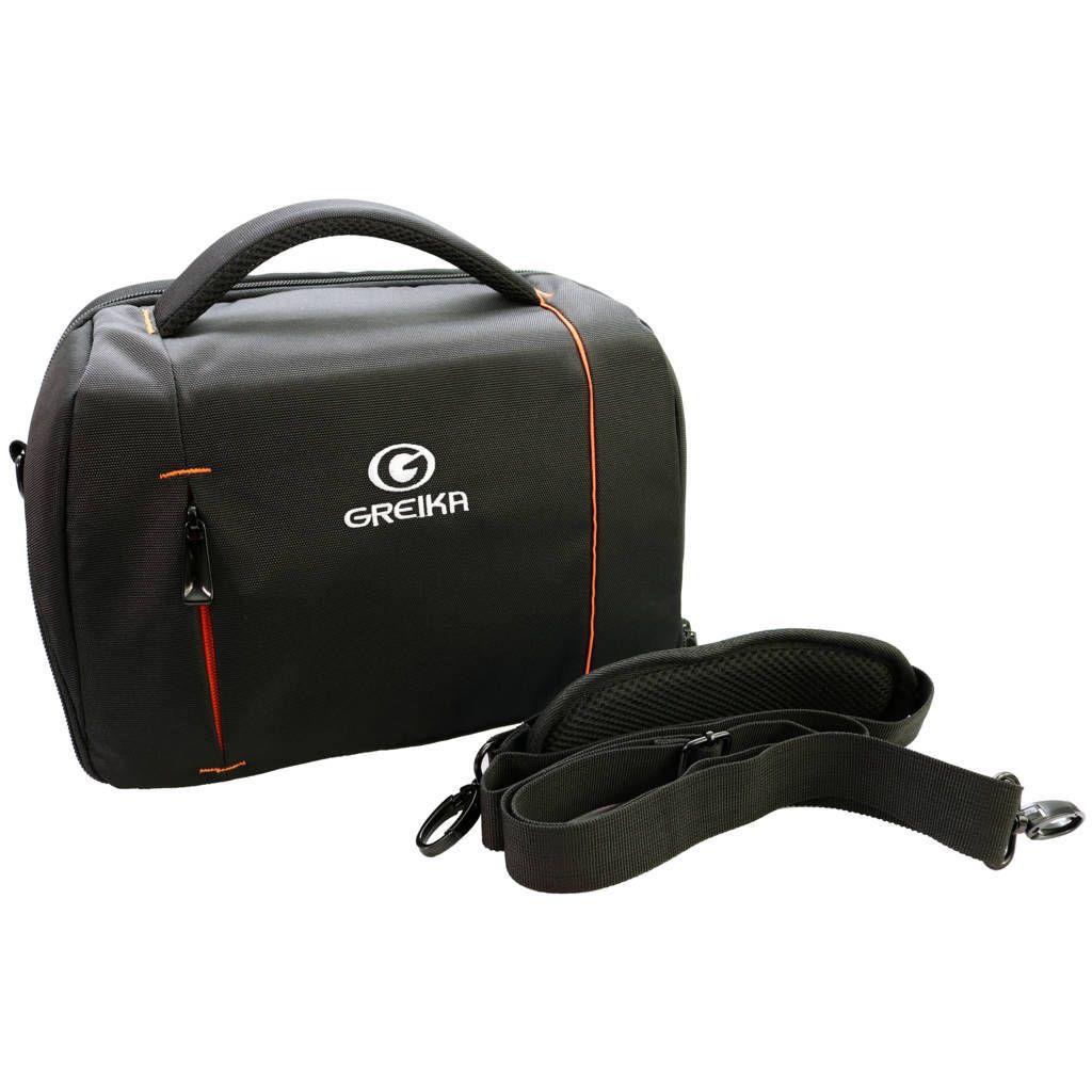Bolsa Fotográfica Greika KF13065 para Câmera DSLR e Acessórios