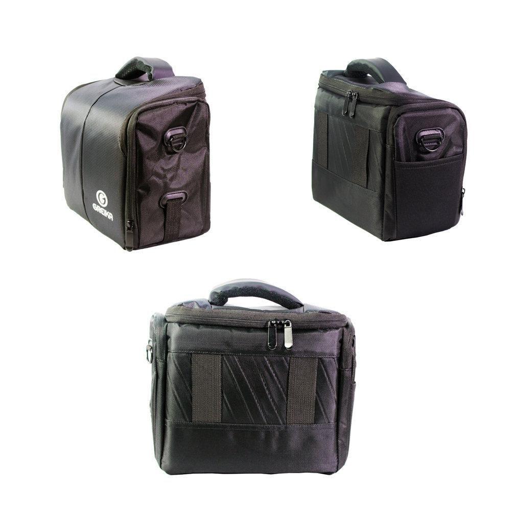 Bolsa Fotográfica Greika ZD-E5 para Câmeras e Acessórios  - Fotolux