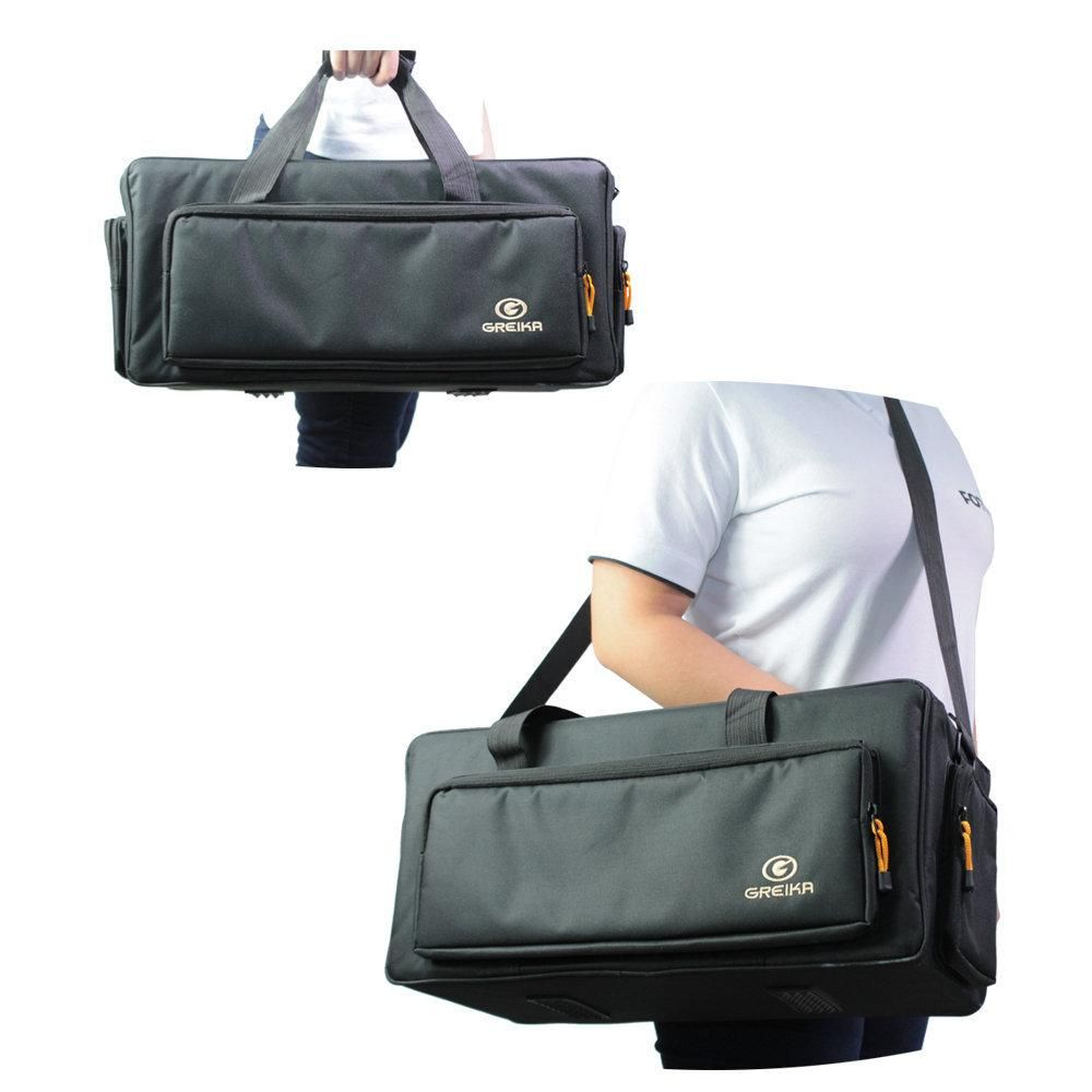 Bolsa Fotográfica Greika ZD-H7 para Filmadoras e Acessórios   - Fotolux
