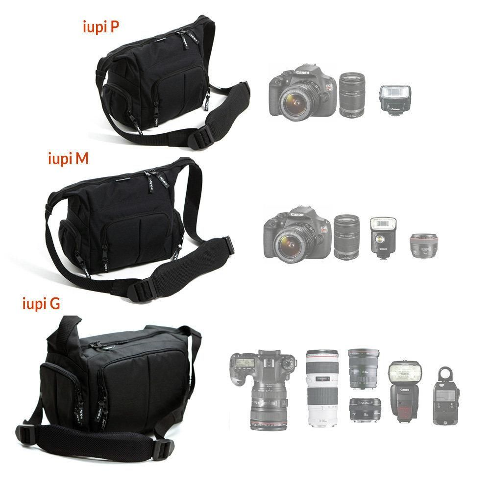 Bolsa para Câmeras e Filmadoras Alhva Iupi PRO M
