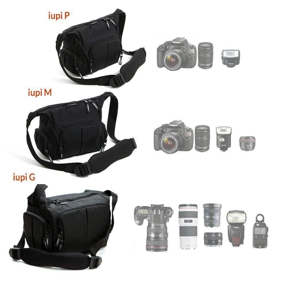 Bolsa para Câmeras e Filmadoras Alhva Iupi PRO P  - Fotolux
