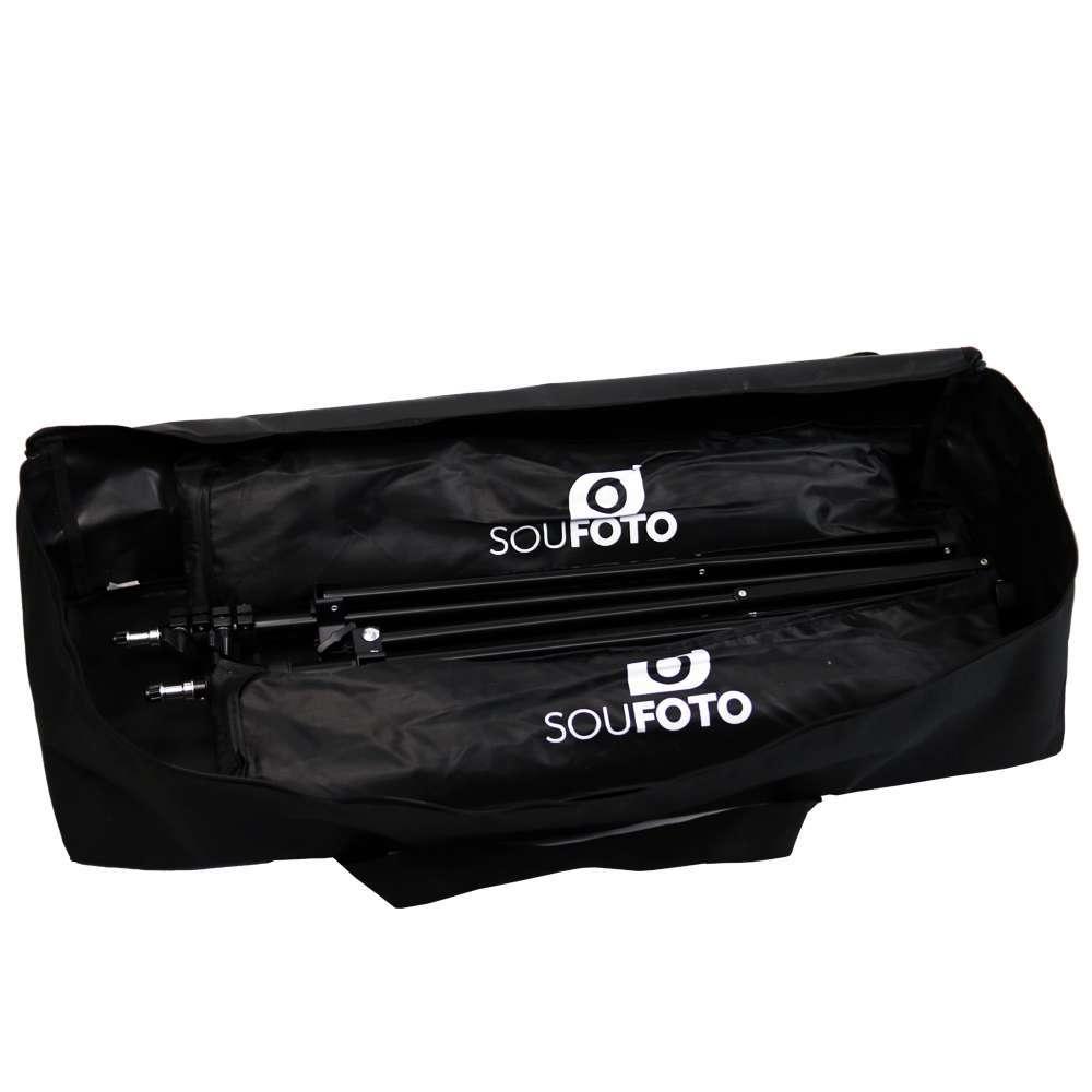 Bolsa para Transporte de Kit de Iluminação, Tripés e Softbox Sou Foto 76cm BKI-76