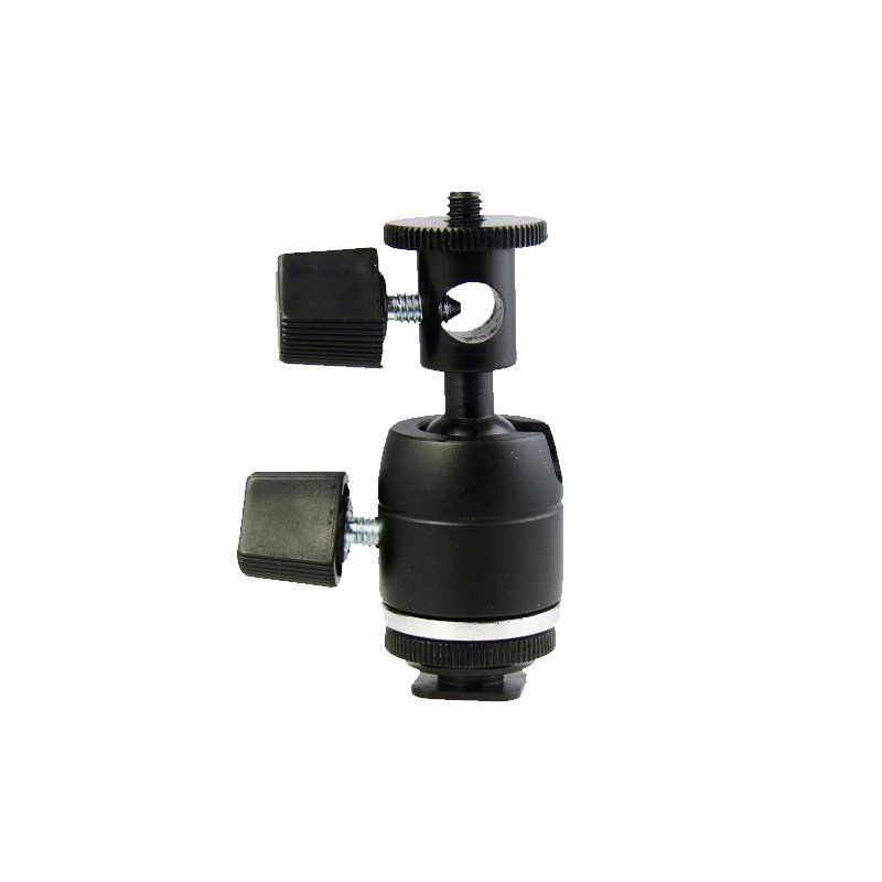 Cabeça Compacta Greika FMH-05 para Câmeras e Iluminadores  - Fotolux