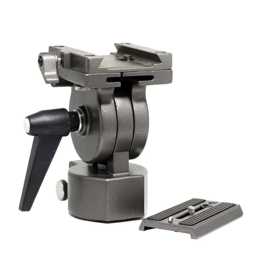 Cabeça de Tripé Greika FT-016H para Câmeras e Filmadoras  - Fotolux