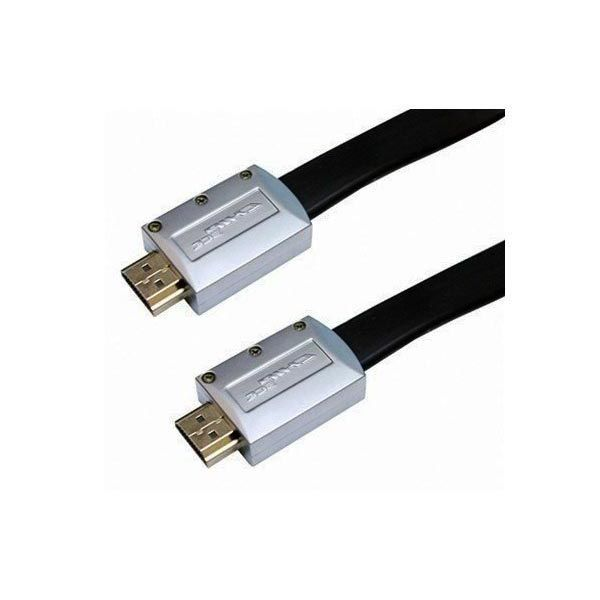 Cabo HDMI 2.0 Flat UltraHD 4K 3D com Ponta Desmontável 19 Pinos Chip Sce  - Fotolux