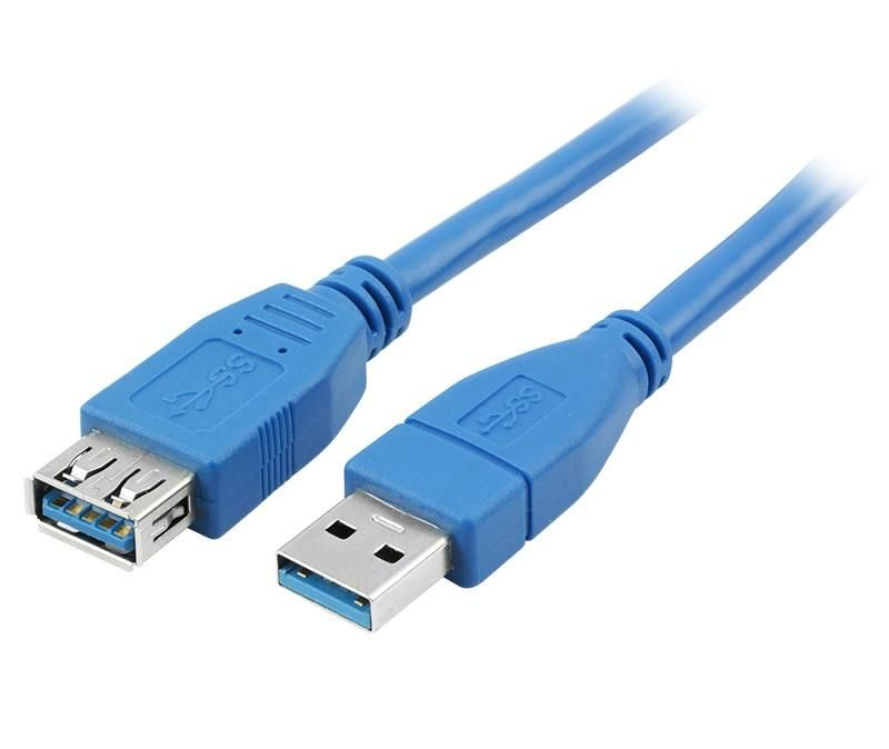 Cabo USB 3.1 A Macho x A Fêmea Chip Sce