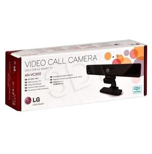 Câmera para Smart Tv LG para Skype AN-VC300 (720p)  - Fotolux