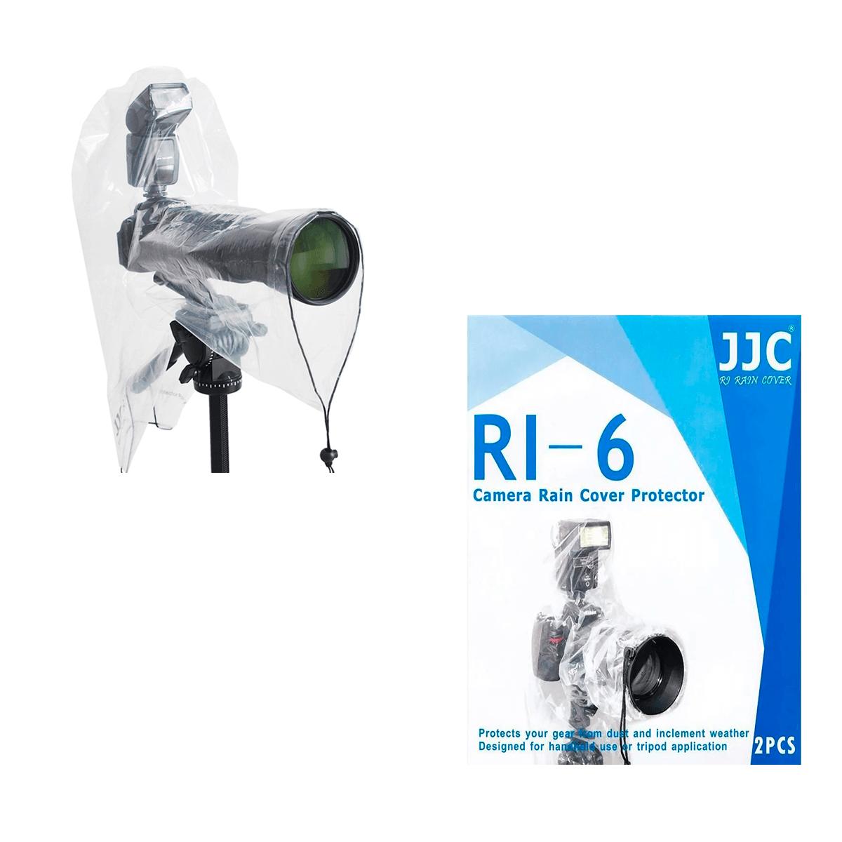 Capa de Chuva (2 unidades) para Câmeras JJC RI-6  - Fotolux