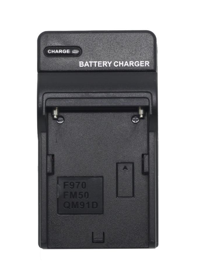 Carregador de Baterias de Iluminadores F550 F750 F970