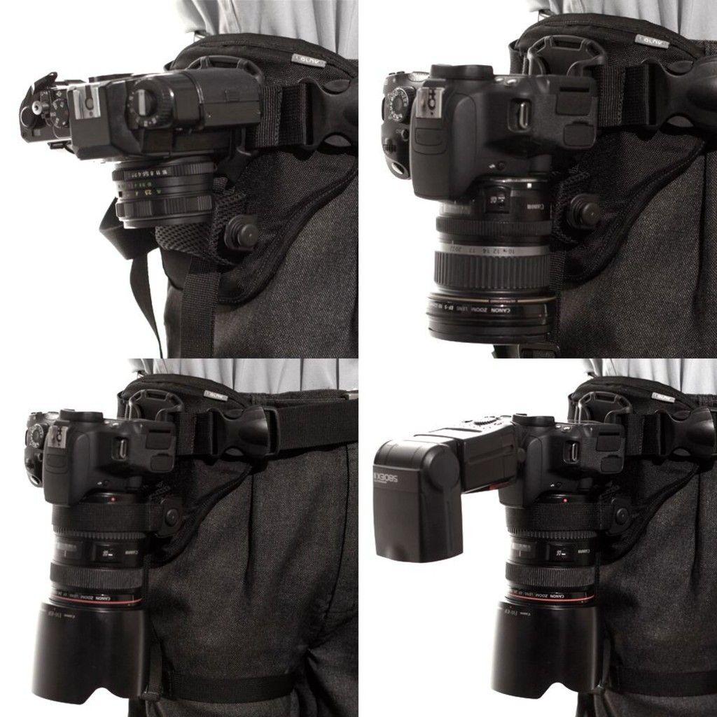 Cinto Suporte para Câmera DSLR Shotkam Single Alhva