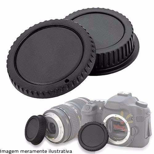 Conjunto Tampas de Lentes Greika L-R1 para Canon