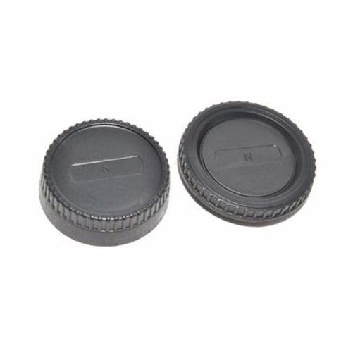 Conjunto Tampas de Lentes Greika L-R2 para Nikon