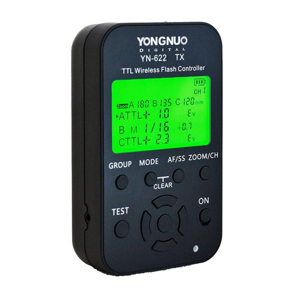 Controlador de Rádio Flash Yongnuo YN622 TX