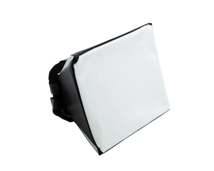 Difusor Universal Yuer Mini Softbox para Flash Speedlite 12.5 x 9.5cm  - Fotolux