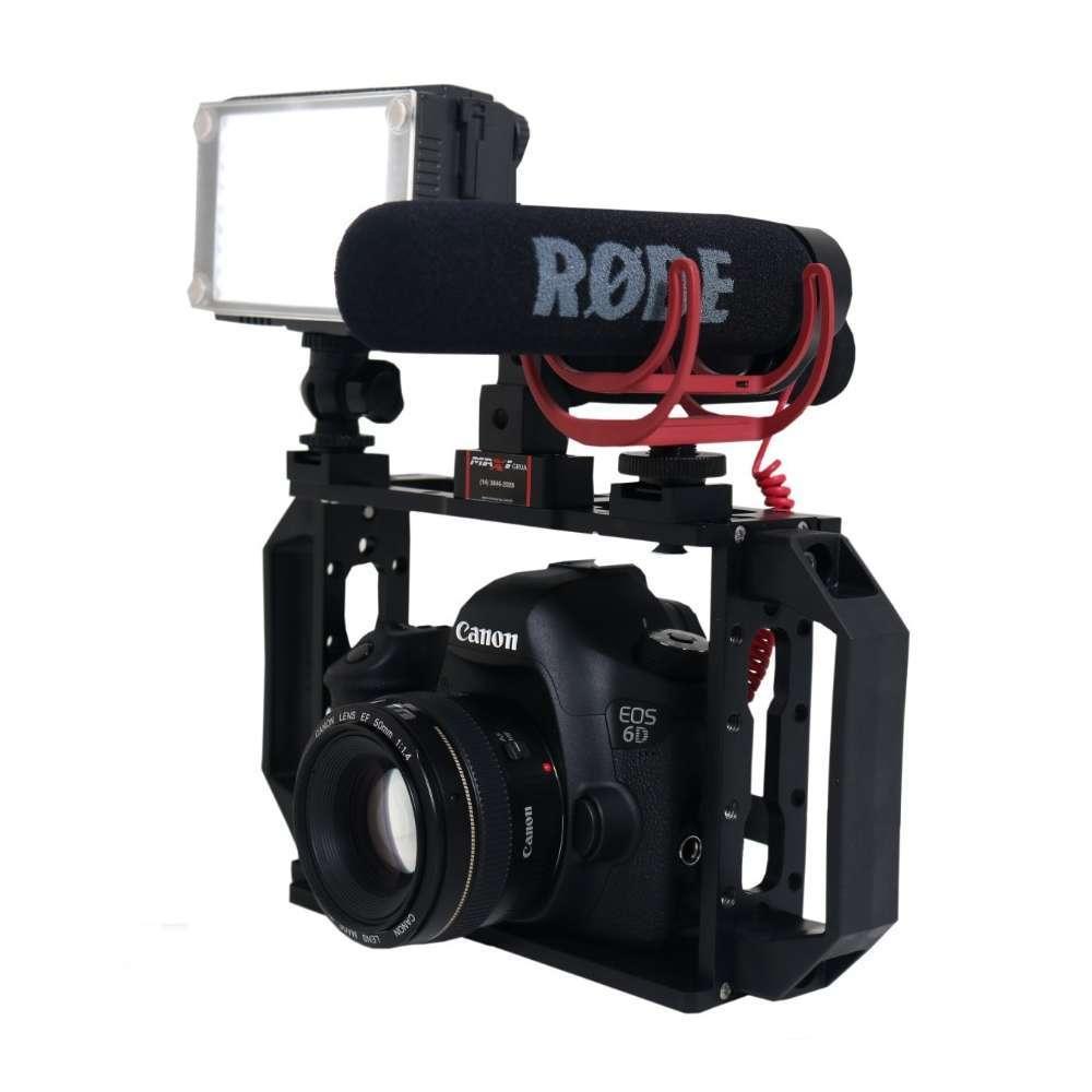 Estabilizador Cage Gaiola Maxigrua 125 para Câmera DSLR, Led e Microfone  - Fotolux