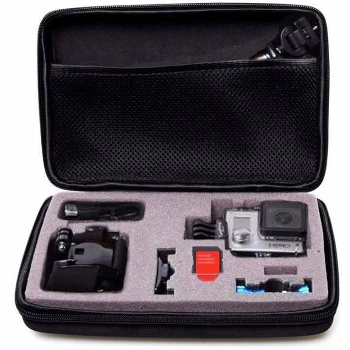 Estojo Rígido Semi Impermeável West para Câmeras GoPro  - Fotolux